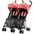 Прогулочная коляска Britax Holiday Double Coral Peach