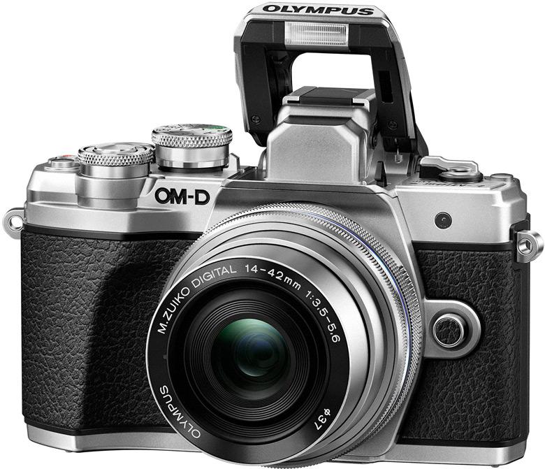 Фотоаппарат Olympus OM-D E-M10 III kit 14-42 II R, серебро