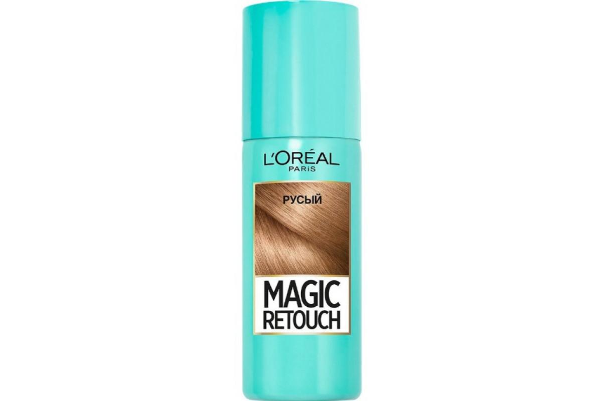 L'Oreal Magic Retouch Тонирующий спрей 4 Русый