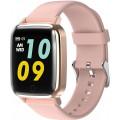 Умные часы Newwear R1, золотой и розовый