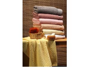 Полотенце махровое Buddemeyer Snake Baby Skin Особая нить 1317 100х160 розовое