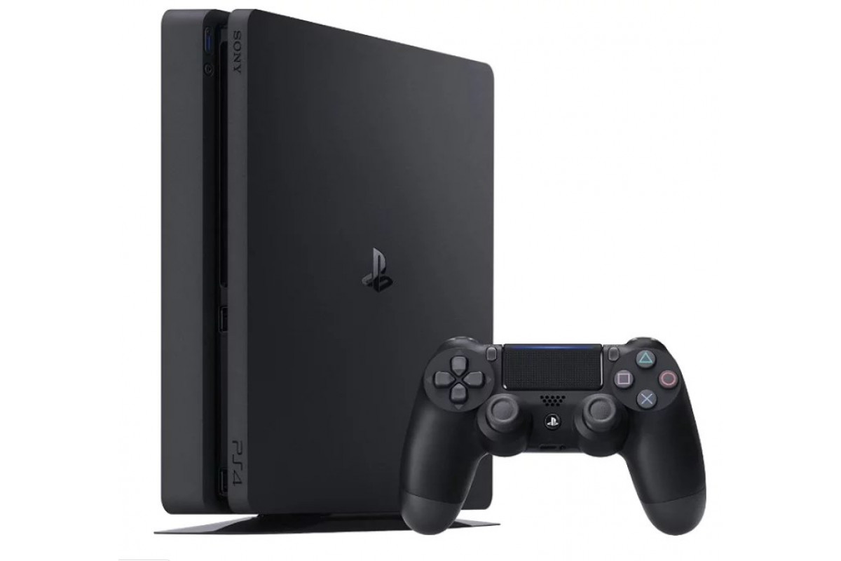 Игровая приставка Sony Playstation 4 Slim (500GB) + FIFA 19