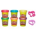 Play-Doh Блестящая коллекция набор из 6 баночек Hasbro