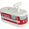 Italtrike Каталка белая Пожарная машина 2110PMP990101