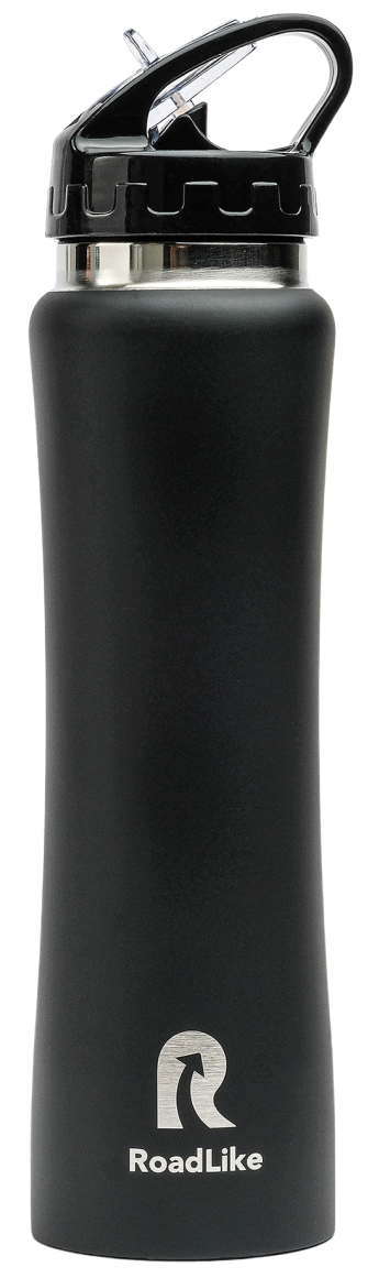 Термобутылка Roadlike 500мл, черный