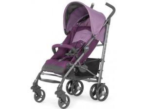 Chicco Lite way - прогулочная коляска-трость Purple (с бампером)