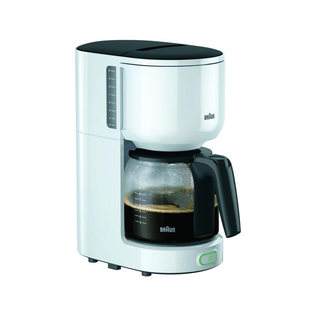 Кофеварка капельная Braun KF 3100 WH