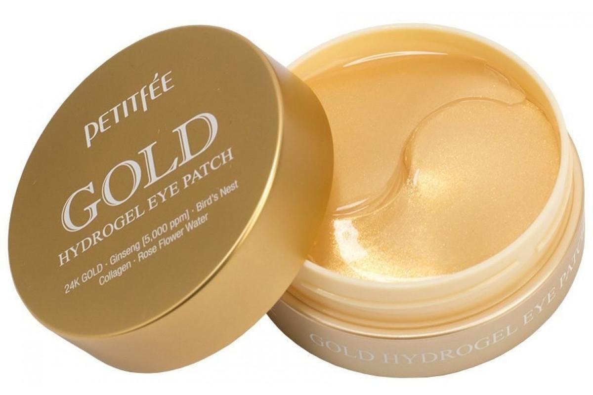 Гидрогелевые патчи для глаз с коллоидным золотом Gold Hydrogel Eye Patch 60шт