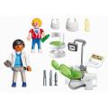 Playmobil Конструктор Детская клиника: Дантист с пациентом