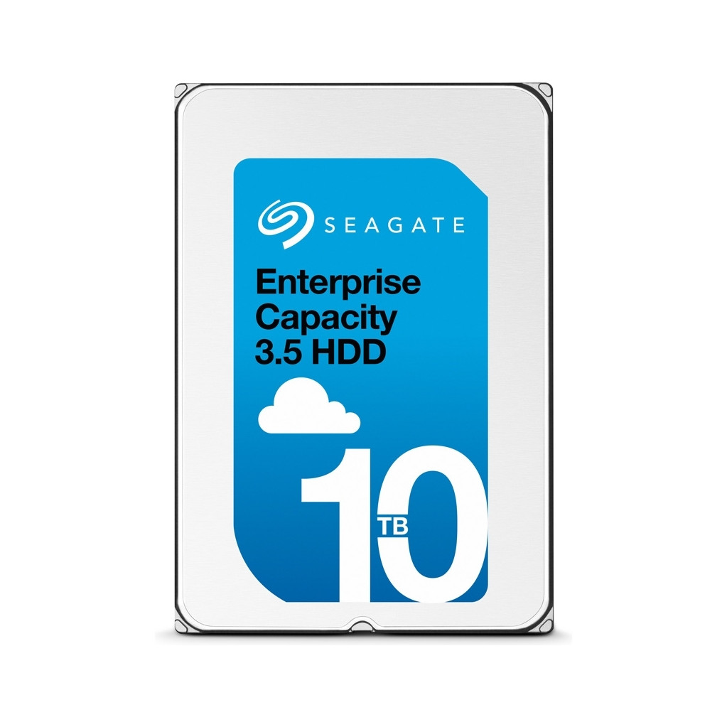 "Жесткий диск HDD 10Tb Seagate Enterprise Capacity 512E ST10000NM0096  3.5"" SAS 6Gb/s 256Mb 7200rpm"