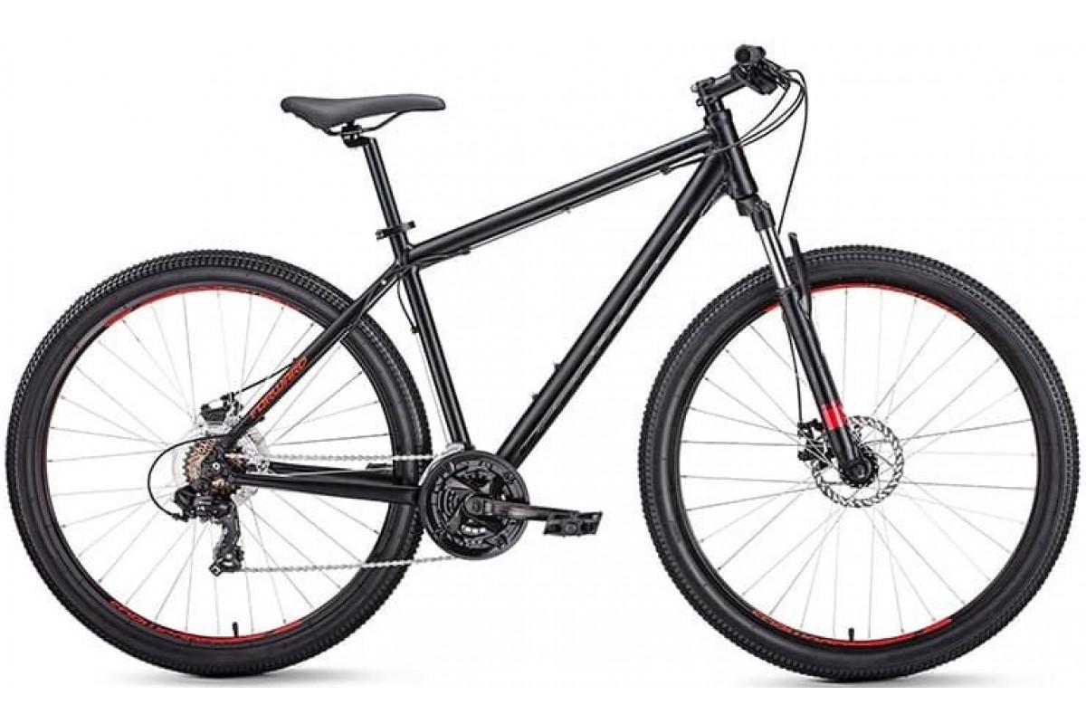 """Велосипед 27.5"""" Forward Apache 2.0 Disc Черный Матовый 18-19 г 17'"""
