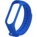 Ремешок силиконовый для Mi Band 5, синий