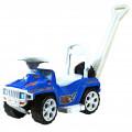 RT Racer Mini Formula 1- каталка с родительской ручкой синий