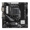 Материнская плата Asrock B450M PRO4-F Soc-AM4 AMD B450 4xDDR4 mATX AC`97 8ch(7.1) GbLAN RAID+VGA+DVI+HDMI