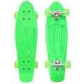 "RT Classic 22"" YQHJ-11 - детский скейтборд со светящимися колесами зеленый"