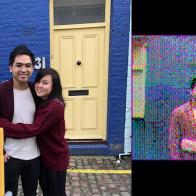 Фотограф делает цветные фотографии с помощью камеры Game Boy