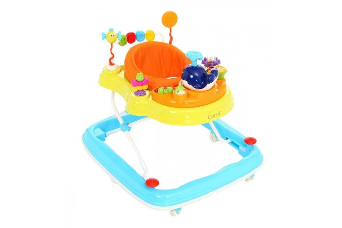 Corol Ходунки детские игровая панель, съемное сидение