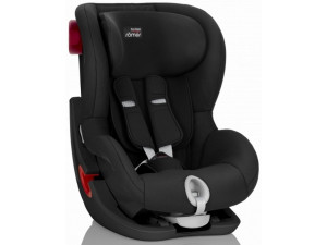 Детское автокресло Britax Romer King II Black Series Cosmos Black Trendline черный