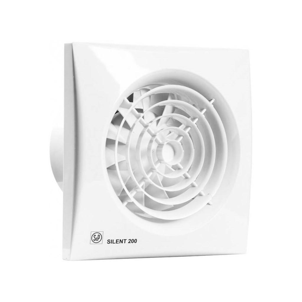 Вытяжной вентилятор Soler & Palau Silent-200 CZ белый
