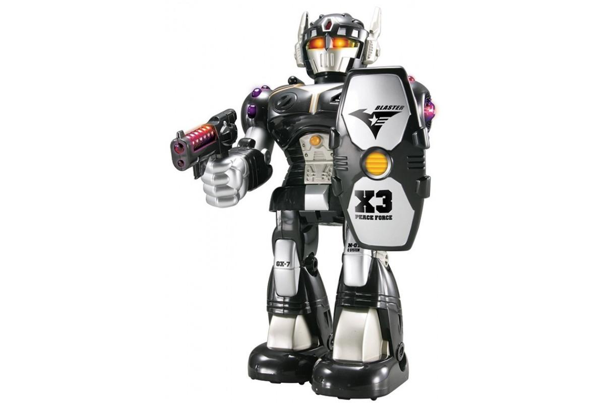 Happy Kid Робот-воин (черный)
