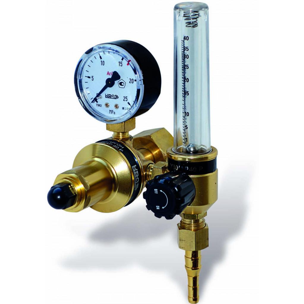 Регулятор Krass У 30/АР 40 Р с ротаметром  для углекислоты и аргона