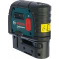 Уровень лазерный BOSCH GPL 5 Professional (0.601.066.200)  пятиточечный 30м ±0.3мм/м