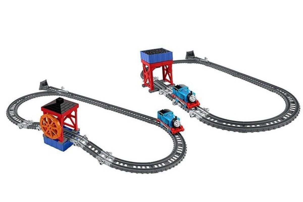 Thomas & Friends Томас и его друзья Угольный бункер и Водяное колесо игровой набор Mattel DVF71