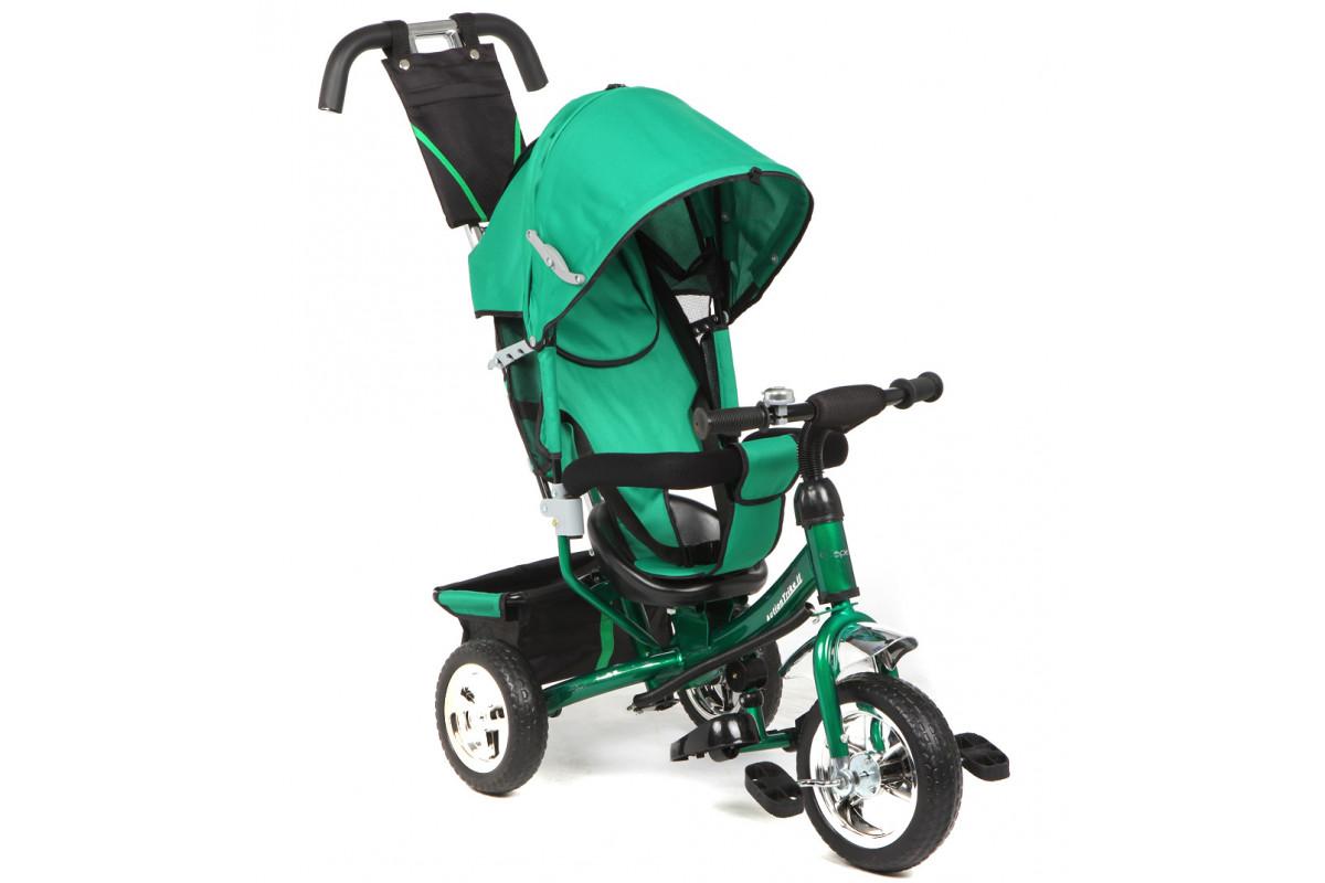 Capella Action Trike II - детский трехколесный велосипед зеленый (зеленый)