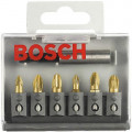 Набор бит Bosch MAXgrip Ph/Pz/LS - 6шт.+держ. (2.607.001.936)