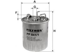 Фильтр топливный FILTRON  PP841/1 для MB SPRINTER (901-905) 2.2D/2.7D/VITO (638)