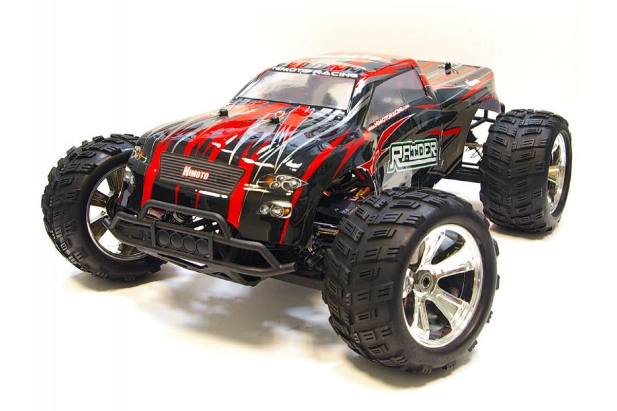 Радиоуправляемый монстр Himoto Raider Brushless 4WD 2.4G 1/8 RTR