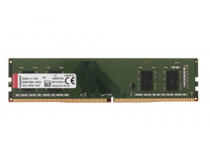 Память оперативная DDR4 4Gb Kingston 2400MHz KVR24N17S6/4 RTL PC4-19200 CL17 DIMM 288-pin 1.2В