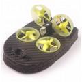 Квадрокоптер Realacc Tiny Whoover TW65S FPV Standard Edition Mode DSMX Receiver, черно-желтый