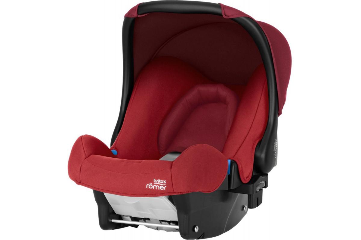 Детское автокресло Britax Roemer Baby-Safe Flame Red Trendline красный