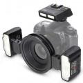 Фотовспышка Meike MK-MT24SⅡ TTL макро для Nikon