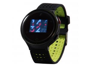 Умные часы Prolike с измерением давления PLSW1000CGN color с цветным дисплеем, зеленые