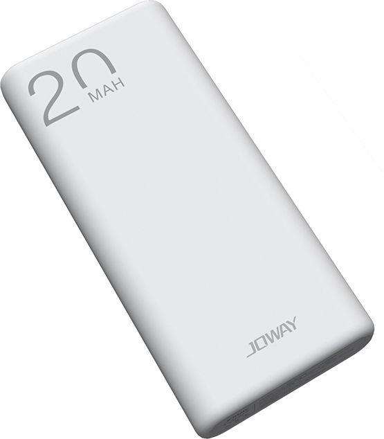 Внешний аккумулятор Joway JP192 20000mah, белый