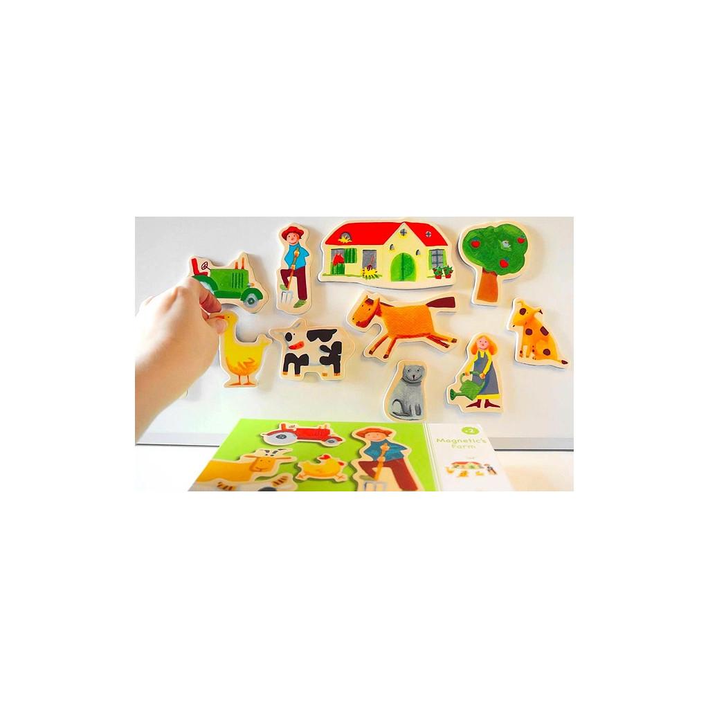 Djeco Ферма - детская магнитная игра