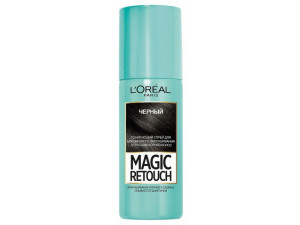 L'Oreal Magic Retouch Тонирующий спрей 1 Черный