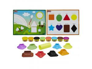 Play-Doh Цвета и формы игровой набор Hasbro