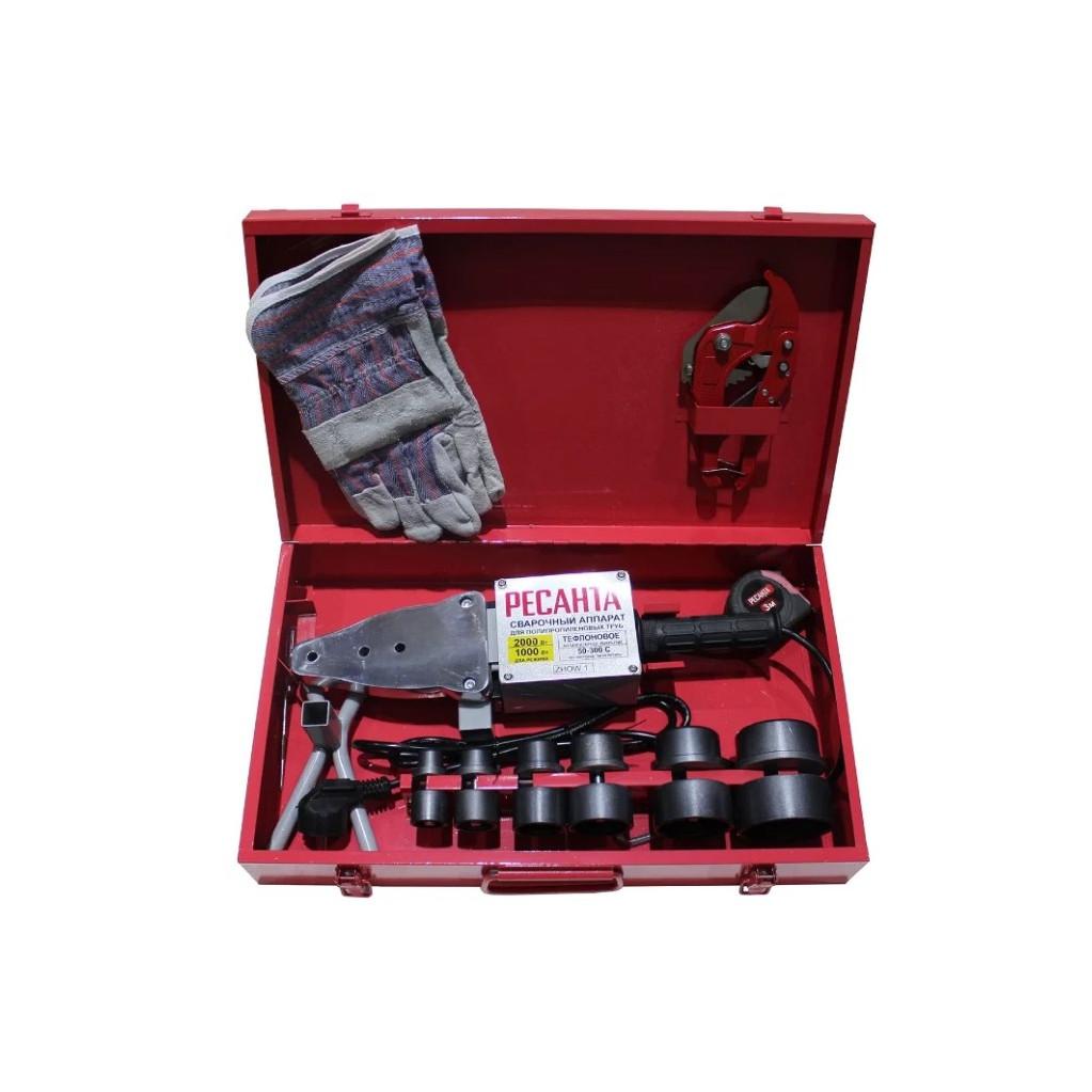 Аппарат для сварки ПВХ труб Ресанта АСПТ-2000