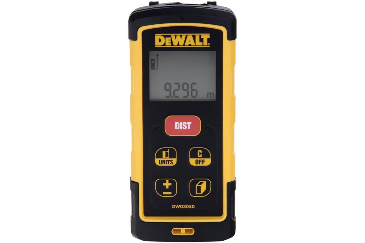 Дальномер лазерный DeWALT DW 03050  точн-1.5мм,дал-50м,0.15кг,кор,чехол