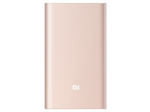 Внешний аккумулятор Xiaomi Mi Power Bank Pro 10000 mah Quick Charge розовое золото