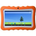 """Детский планшет 7"""" Kids Tablet PC Pad с защитным чехлом, UK штекер, оранжевый"""