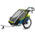 Thule Chariot Sport1 - детская мультиспортивная коляска салатовый
