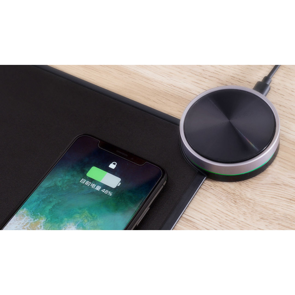 Коврик для мыши Xiaomi MIIIW Smart Mouse Pad с беспроводной зарядкой