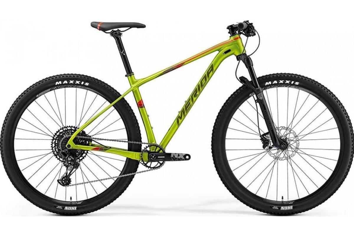 "Велосипед Merida Big Nine NX Edition SilkOlive (Red) 2019 L(19"")(90080)"