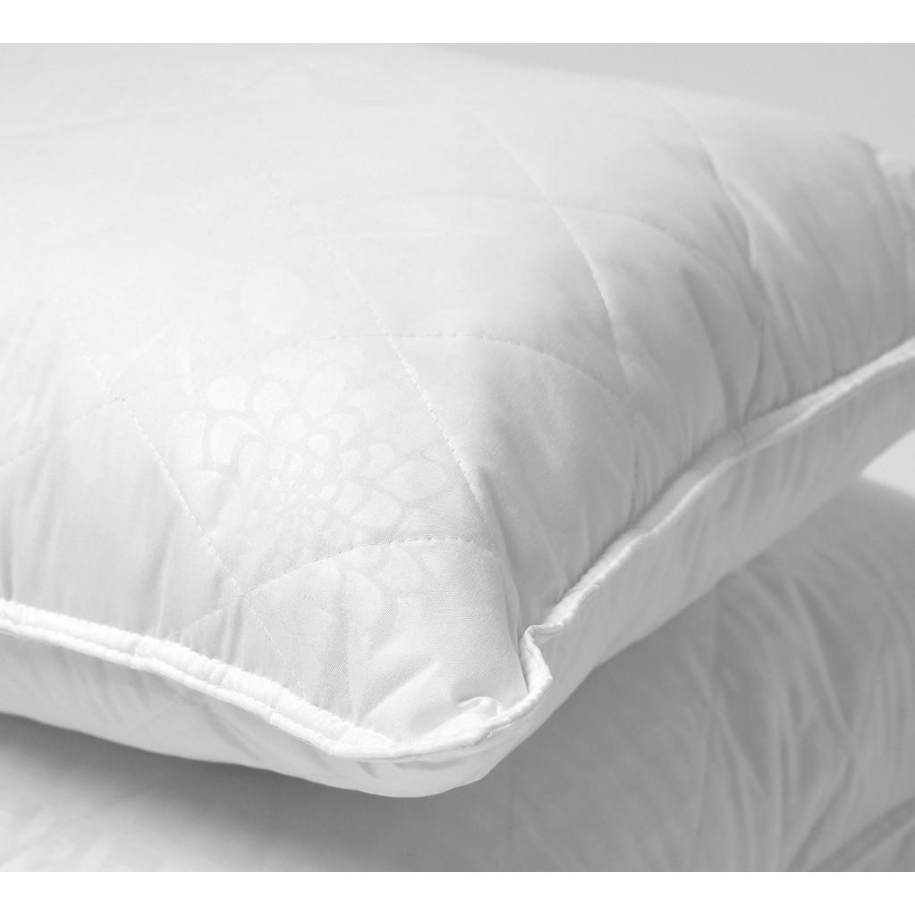 Подушка GoodNight двухкамерная шёлк/искусcтвенный лебяжий пух/микрофибра 70х70