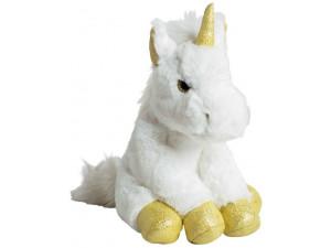 Мягкая игрушка MOLLI Единорог золото 35 см