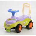 Tolocar Каталка детская с отделением для игрушек (желто-фиолетовый)